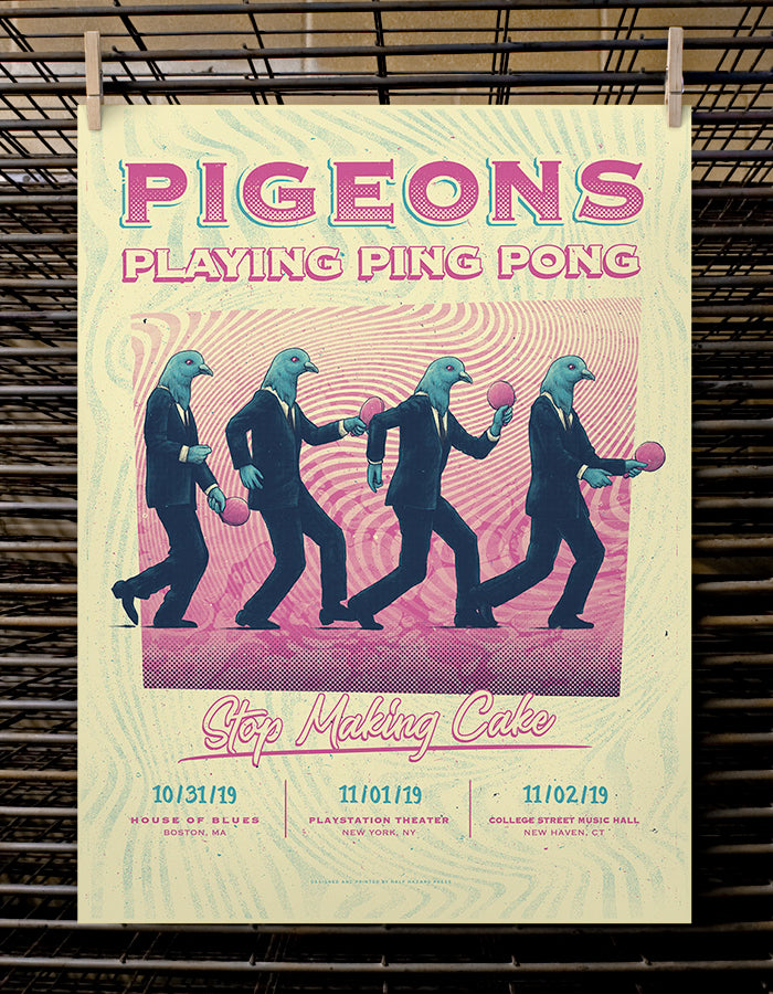 Pigeons Playing Ping Pong | Stop Making Cake