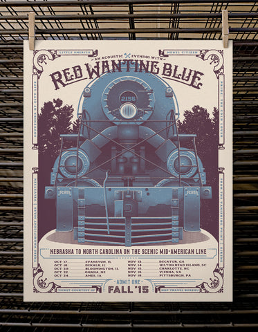 Red Wanting Blue | Acoustic Tour 2015