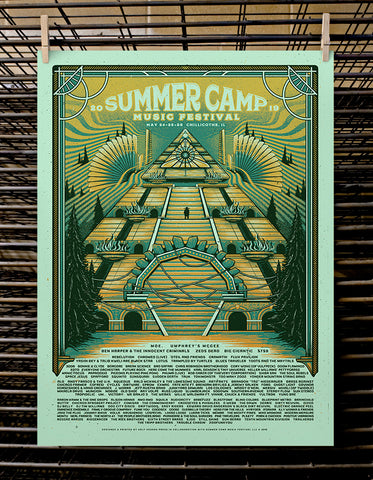 SCAMP Music Festival | VIP 2019 Mint Variant