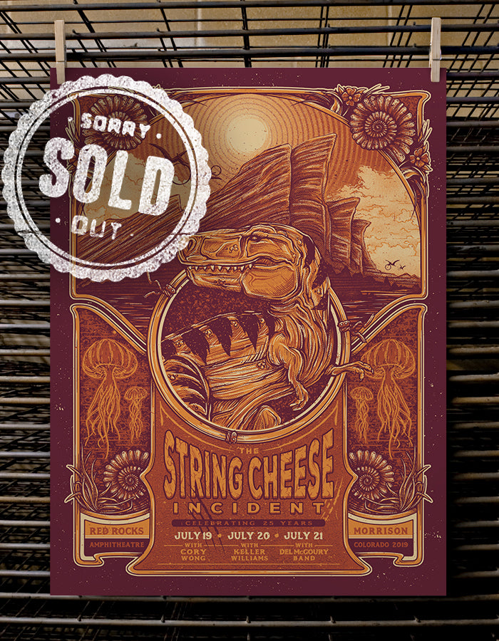 String Cheese Incident 25th Anniversary | Foil Variant