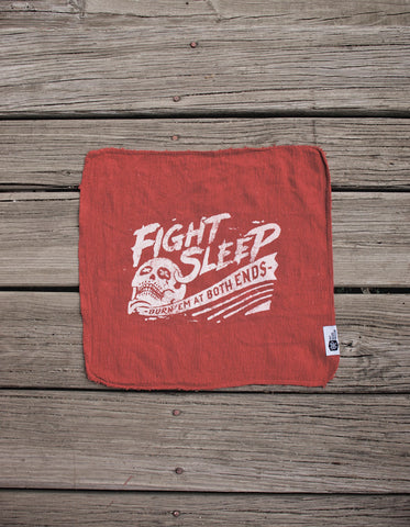 Fight Sleep Shop Rag