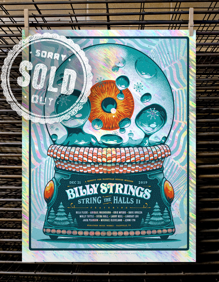 Billy Strings | String the Moon Lava - Foil Variant