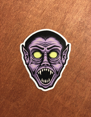 Dracula | Hollow-Eyed Sticker