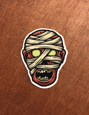 Mummy | Hollow-Eyed Sticker