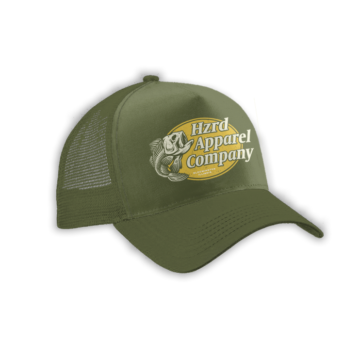 Fishin' Trucker - Olive