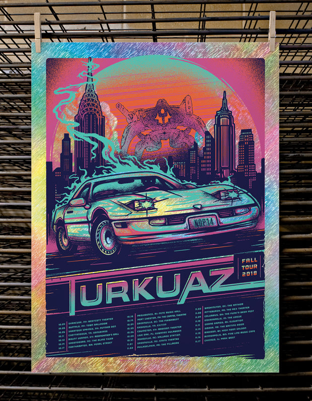 Turkuaz | Fall - Static Foil Variant