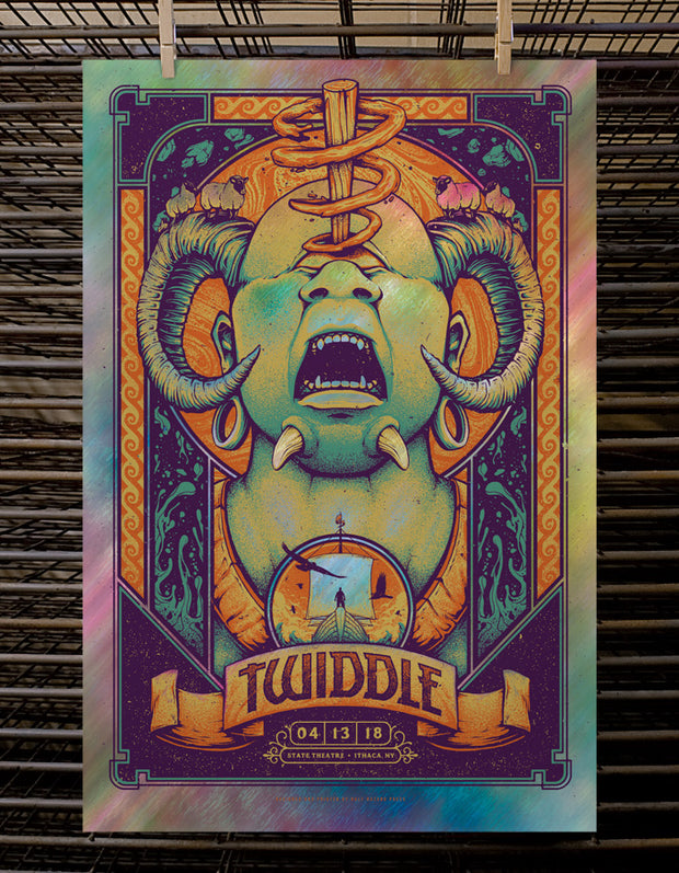 Twiddle | Ithaca - Foil No.1