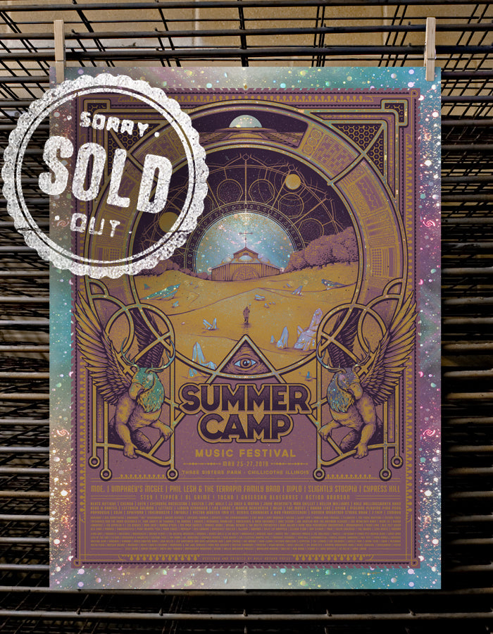 SCAMP Music Festival | VIP 2018 Galaxy Foil Variant