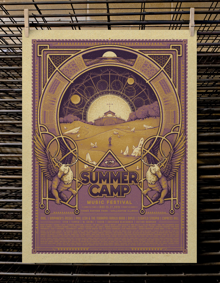 SCAMP Music Festival | VIP 2018 Metallic Gold Variant