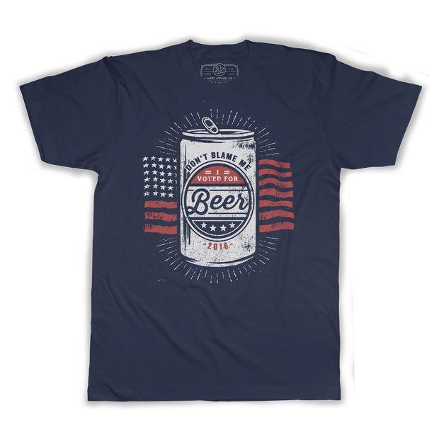 I Voted For Beer Tee