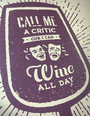 Whine Critic