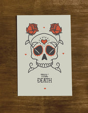 Till' Death | Greeting Card