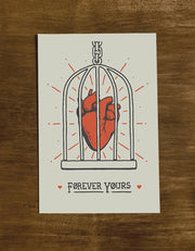 Forever Yours | Greeting Card