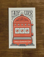 Lady Luck | Greeting Card