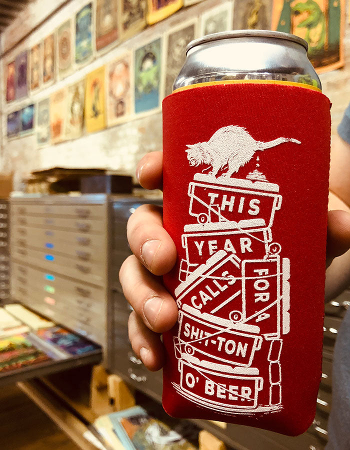 16oz S**t Ton Coozie