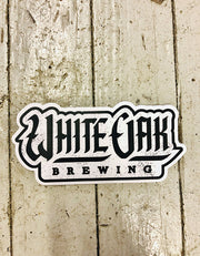 White Letter Sticker