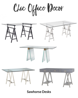 Add a touch of Crafty Flair to Your Home Office with a Sawhorse Desk
