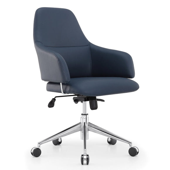 Meelano M31 Executive Managerial Office Chair in Vegan Leather