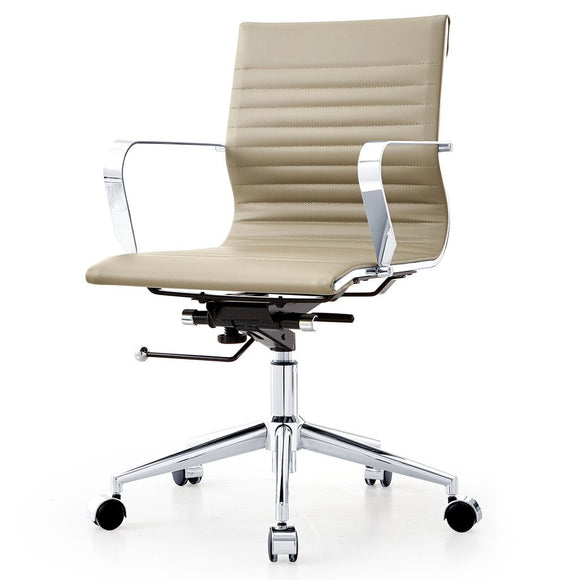 Meelano M344 Office Chair in Vegan Leather