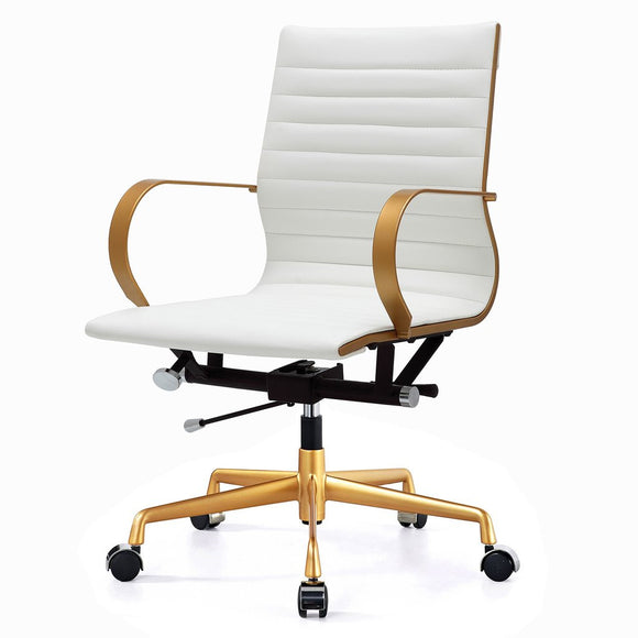 Meelano M365 Office Chair in Vegan Leather