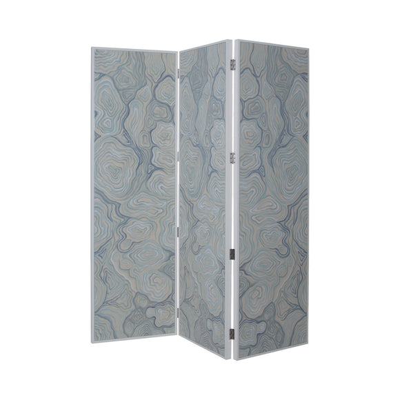 Dimond Home Coastal Agate Folding Screen