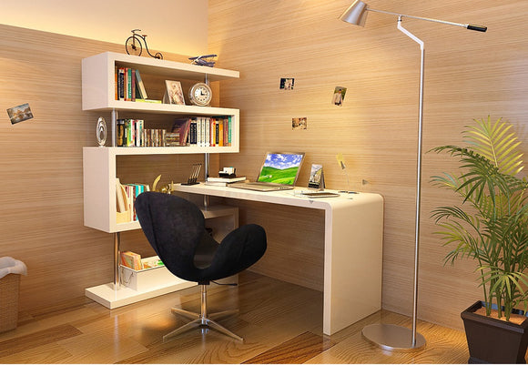 J&M Furniture KD02 Modern Office Desk