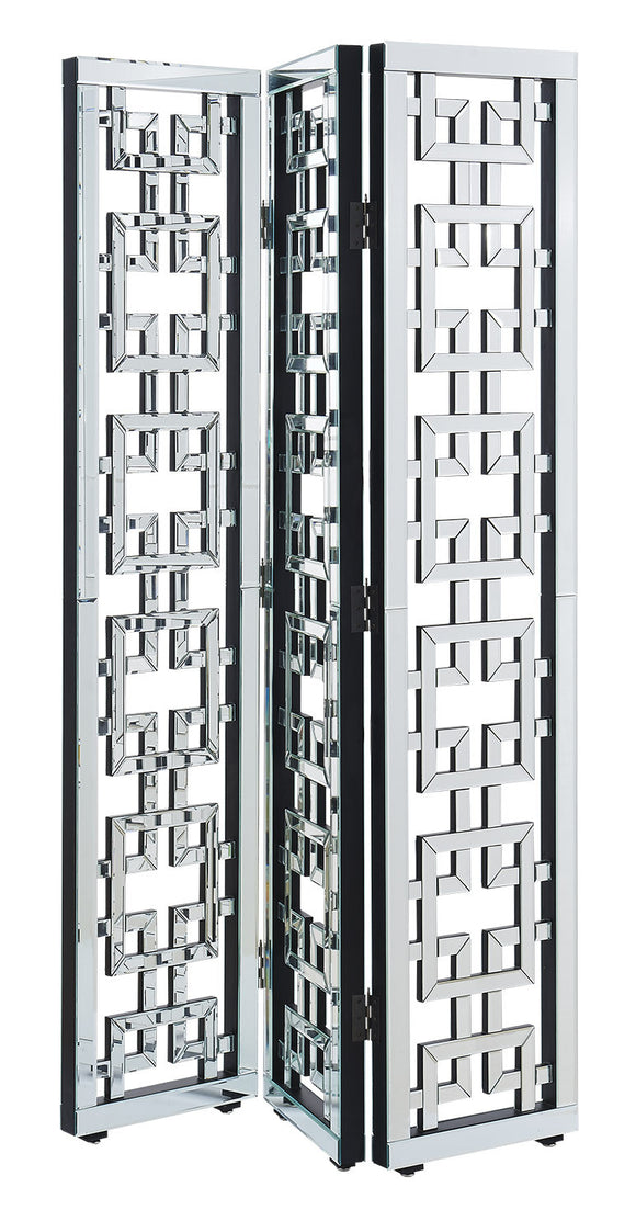 Elegant Lighting Modern 3-Panel Room Divider