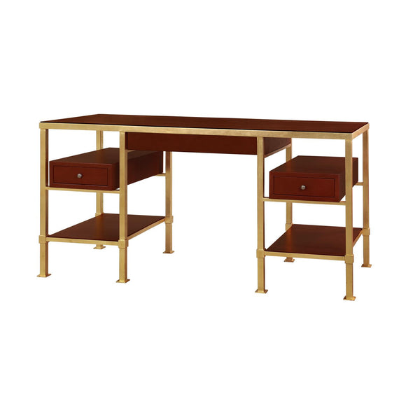 Bungalow 5 Marcel Desk, Gold