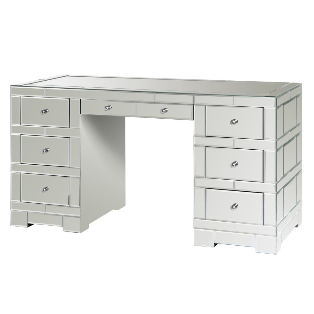 mirrored office furniture. bungalow 5 amanda 3part desk mirror mirrored office furniture f
