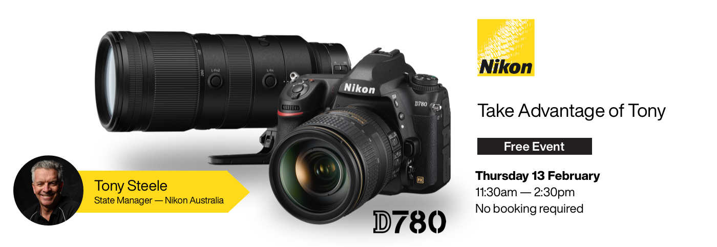 Take Advantage of Tony: Get up to Speed on the New Nikon D780 and the New Nikon Z 70-200 f/2.8