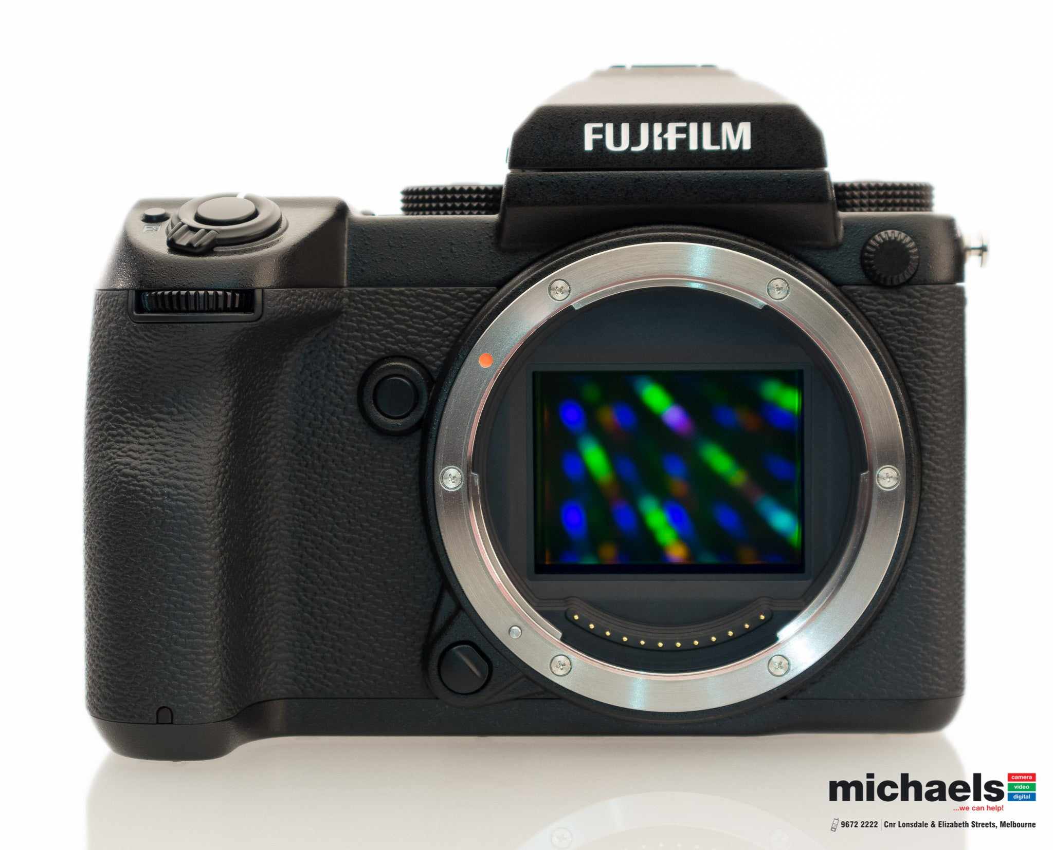The FUJIFILM GFX 50S is now in Store at michaels camera!