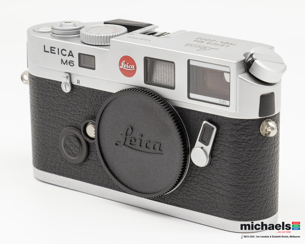 New in Used @ michaels: Leica Die letzten 999 M6 TTL Serial # 460