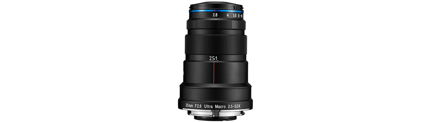 Laowa releases 25mm f/2.8 2.5-5X Ultra Macro Lens for Canon, Nikon and Sony mounts