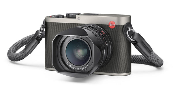 We open the box on the new Leica Q in Titanium Gray