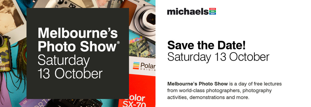 Save the Date: Melbourne's Photo Show 13 October 2018