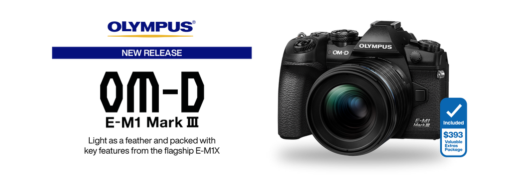 Professional, Compact and Lightweight — Olympus' New OM-D E-M1 Mark III