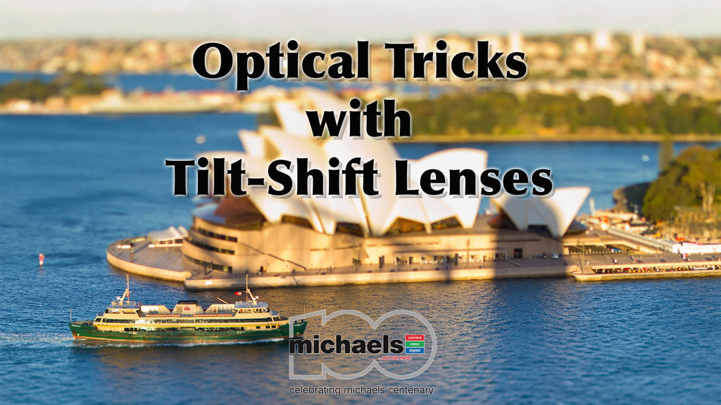 Optical Tricks with Tilt-Shift Lenses