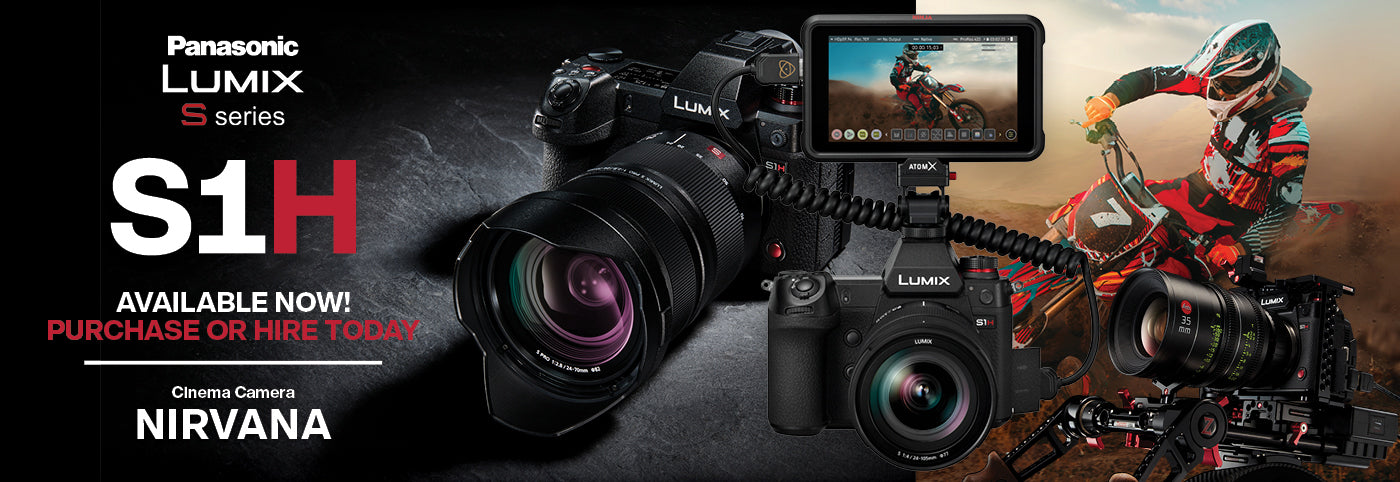 Panasonic Lumix S1H: Cinematic Performance in an Ergonomic, Handheld Design