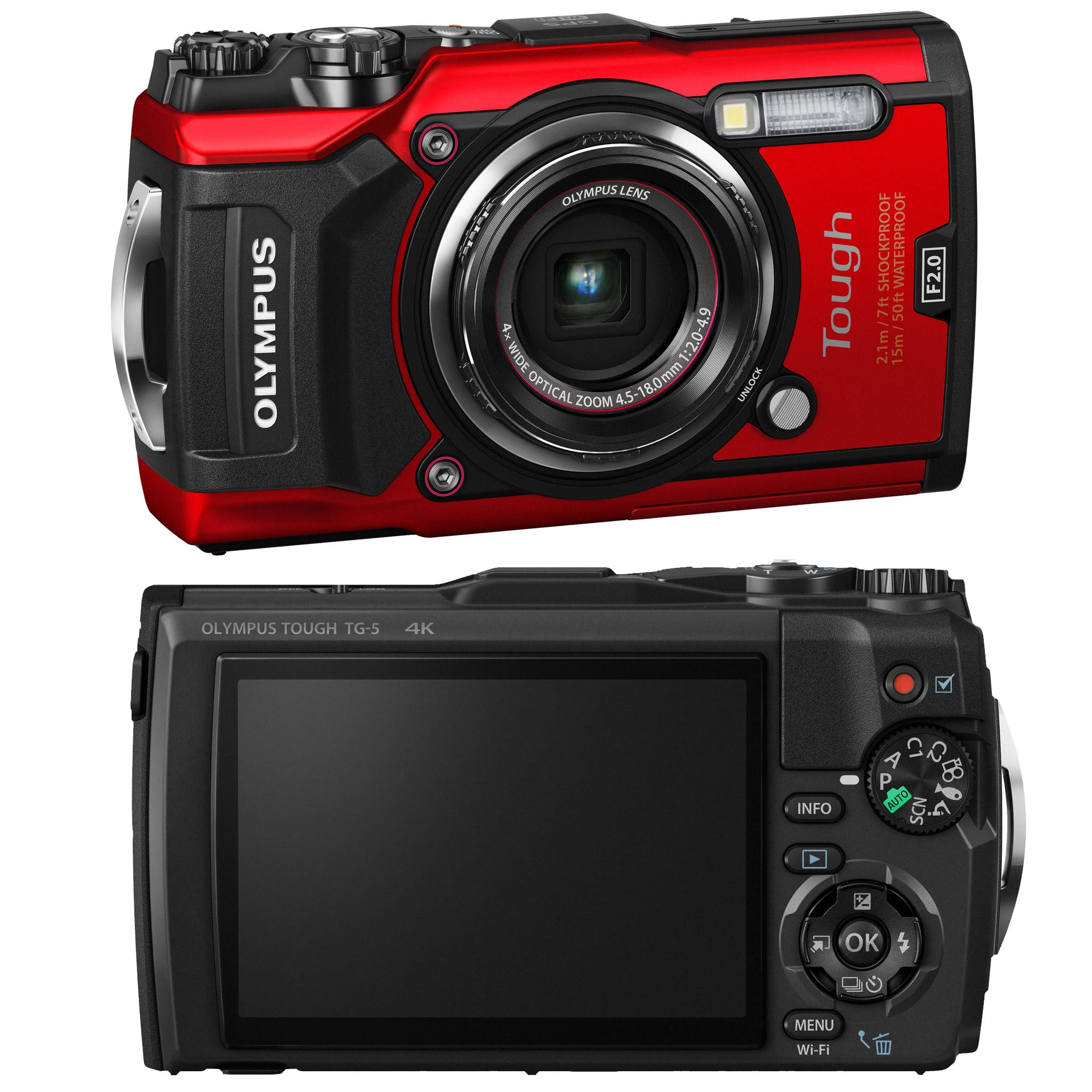 The Olympus Tough TG-5 — Conquer the Outdoors!