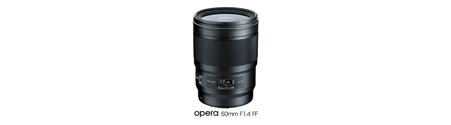 Tokina announces new Opera Series Premium Lenses starting with a 50mm f/1.4 for Canon and Nikon