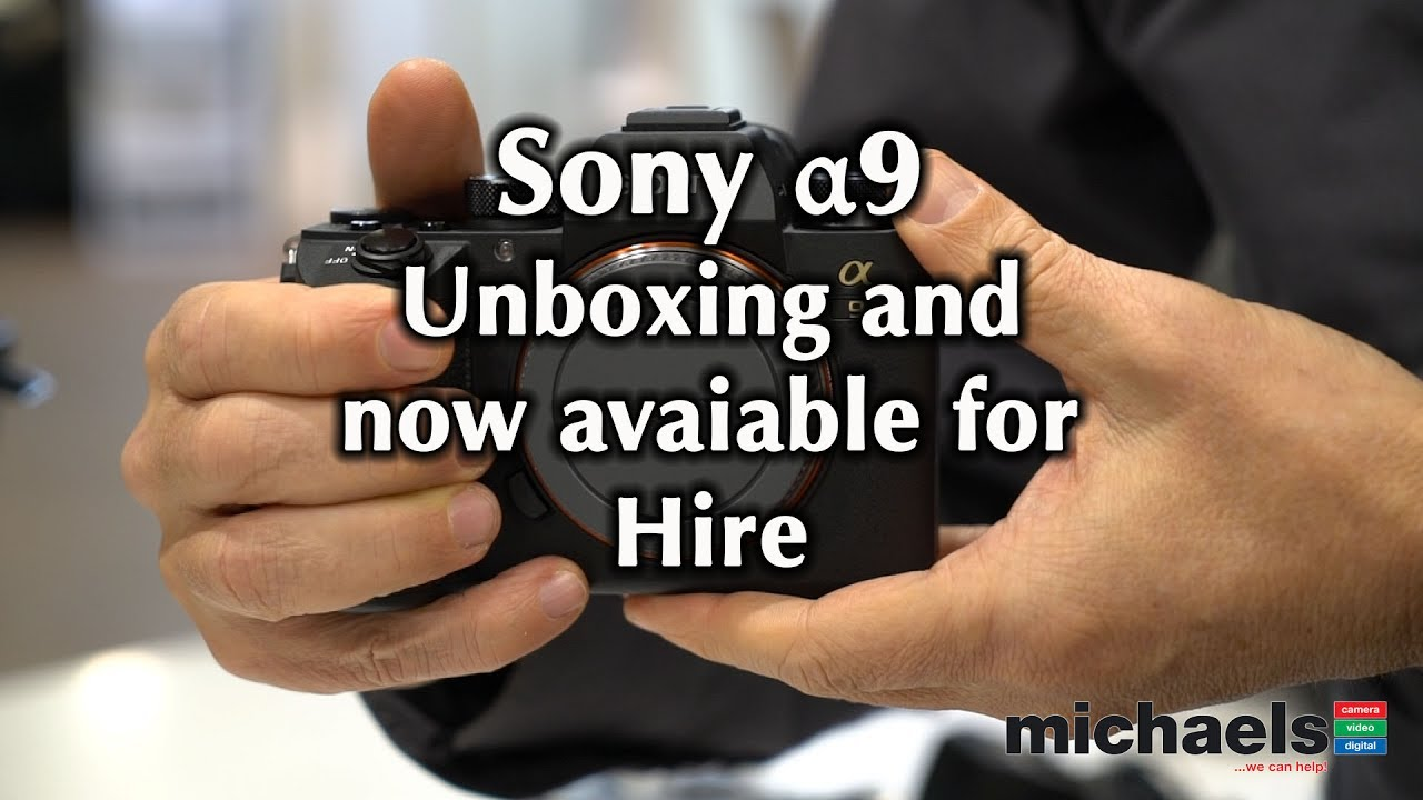 Sony A9 Unboxing