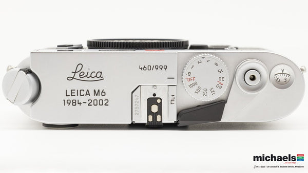 Leica Die Letzten 999 M6 TTL — New in Used @ Michael's