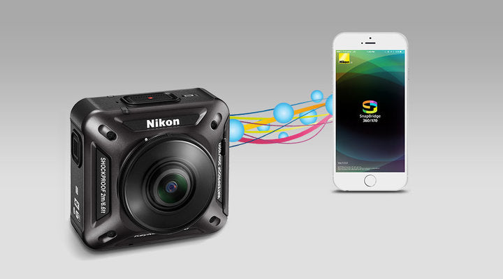 How to Pair the Nikon KeyMission 360 to iOS