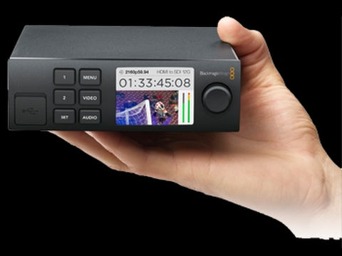 Learn About The Blackmagic Web Presenter and the Terenex Mini Smart Panel