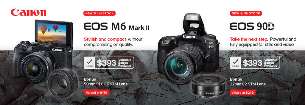 Canon New Releases: 90D and M6II