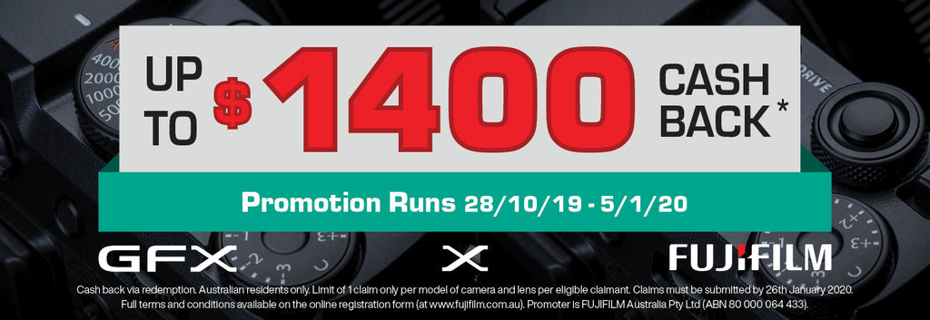Fujifilm Up To $1400 Cash Back