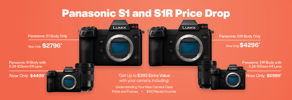 Panasonic S1 and S1R Price Drop