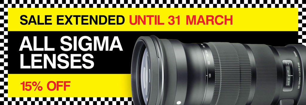 Sigma Lenses - 15% off!