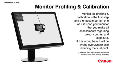 Monitor Profiling & Calibration