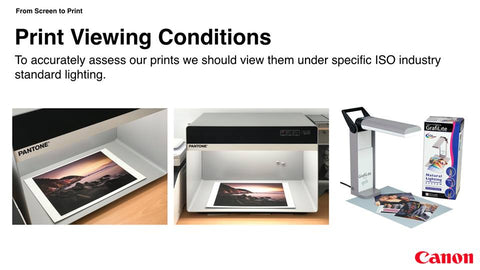 Print Viewing Conditions